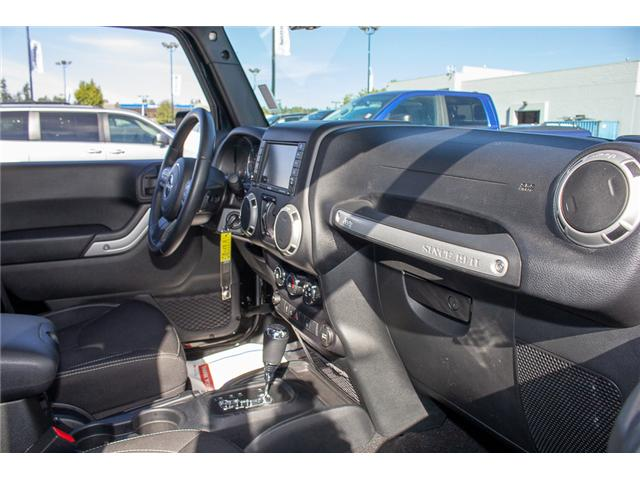 2016 Jeep Wrangler Unlimited Sahara (Stk: EE898320A) in Surrey - Image 14 of 21