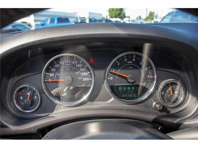 2016 Jeep Wrangler Unlimited Sahara (Stk: EE898320A) in Surrey - Image 19 of 21