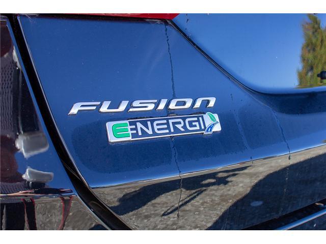 2018 Ford Fusion Energi SE Luxury (Stk: 8FU0202) in Surrey - Image 6 of 26