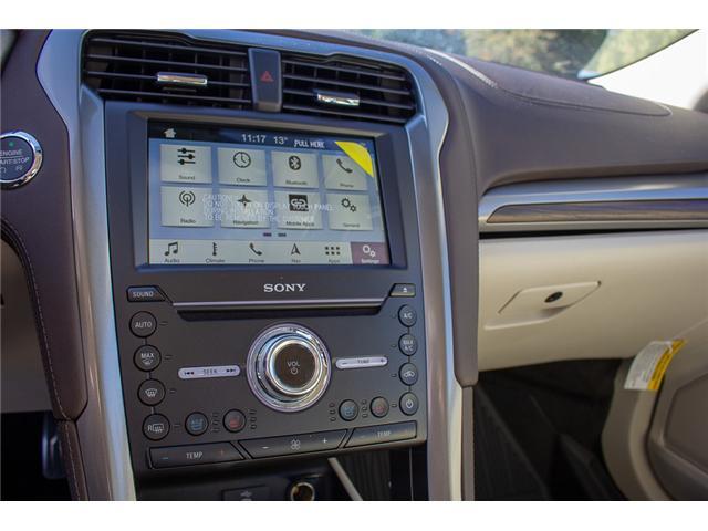 2018 Ford Fusion Energi Platinum (Stk: 8FU4034) in Surrey - Image 21 of 28