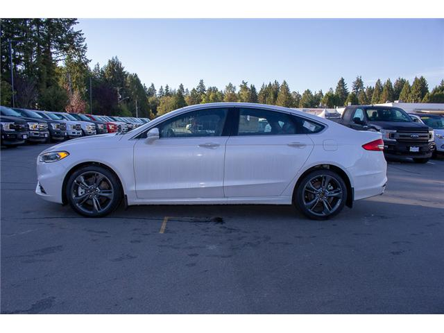 2018 Ford Fusion V6 Sport (Stk: 8FU4110) in Surrey - Image 4 of 29
