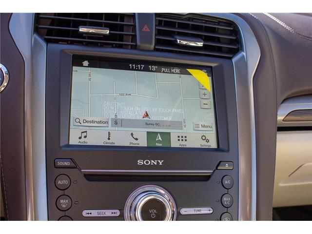 2018 Ford Fusion Energi Platinum (Stk: 8FU4034) in Surrey - Image 24 of 28