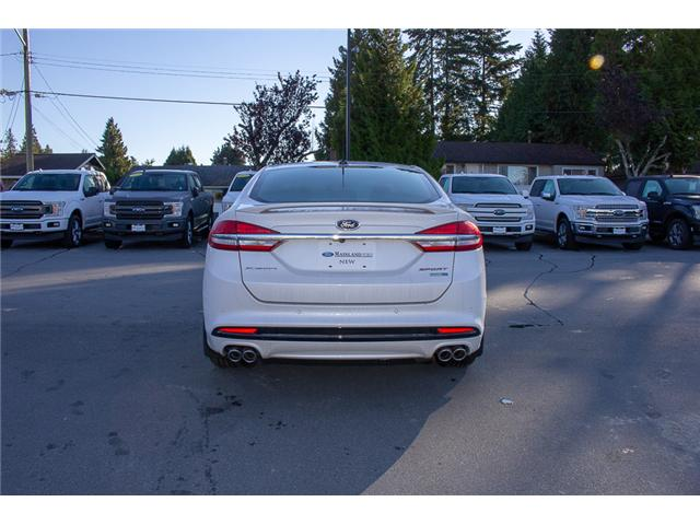 2018 Ford Fusion V6 Sport (Stk: 8FU4110) in Surrey - Image 6 of 29