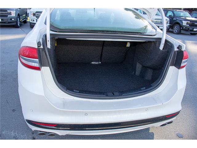 2018 Ford Fusion V6 Sport (Stk: 8FU4110) in Surrey - Image 9 of 29
