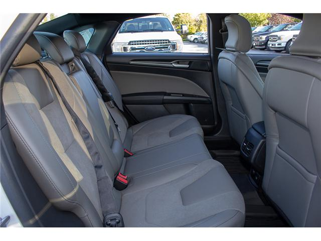 2018 Ford Fusion V6 Sport (Stk: 8FU4110) in Surrey - Image 19 of 29
