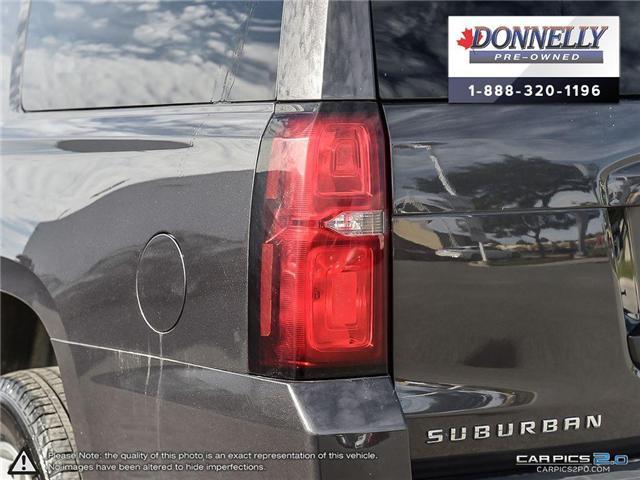 2018 Chevrolet Suburban LS (Stk: CLMUR917) in Kanata - Image 12 of 28