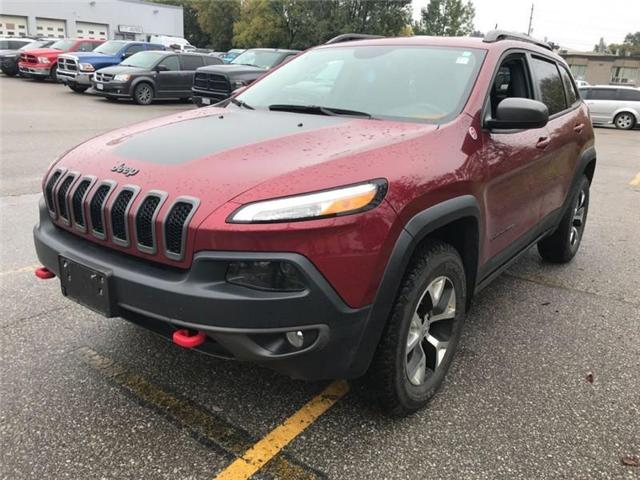 2016 Jeep Cherokee Trailhawk (Stk: 23642T) in Newmarket - Image 1 of 19