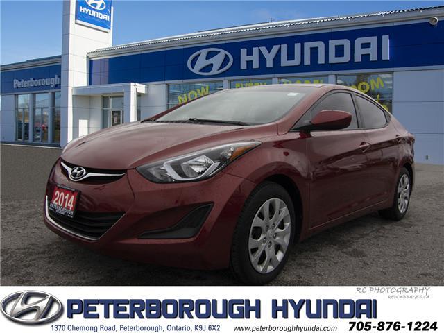 2014 Hyundai Elantra GL (Stk: H11762A) in Peterborough - Image 1 of 19