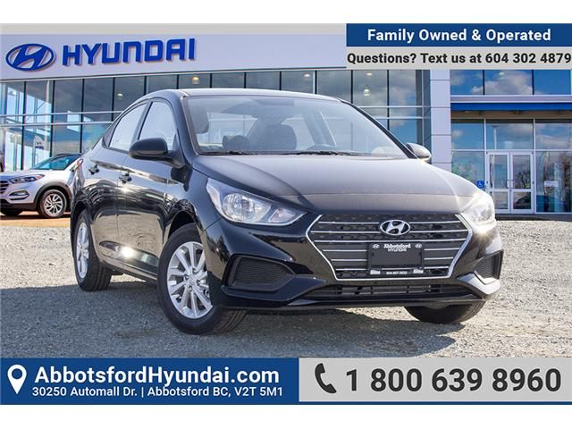 2019 Hyundai Accent Preferred (Stk: KA046122) in Abbotsford - Image 1 of 24