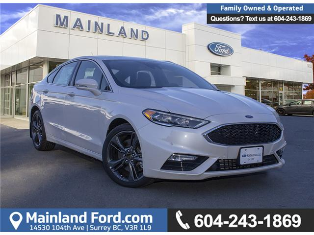 2018 Ford Fusion V6 Sport (Stk: 8FU4110) in Surrey - Image 1 of 29