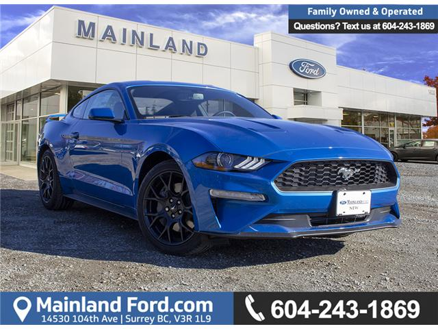 2019 Ford Mustang EcoBoost (Stk: 9MU3901) in Surrey - Image 1 of 23