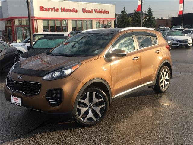 2017 Kia Sportage SX Turbo (Stk: L00044) in Barrie - Image 1 of 20