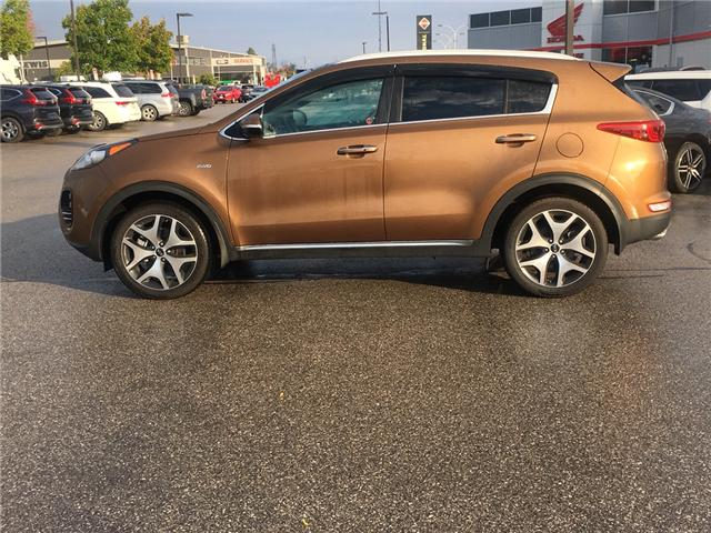 2017 Kia Sportage SX Turbo (Stk: L00044) in Barrie - Image 2 of 20