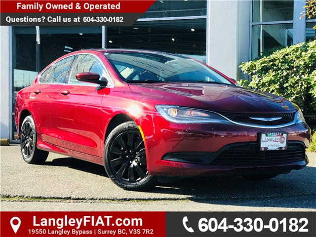 2015 Chrysler 200 LX (Stk: FN569551) in Surrey - Image 1 of 30