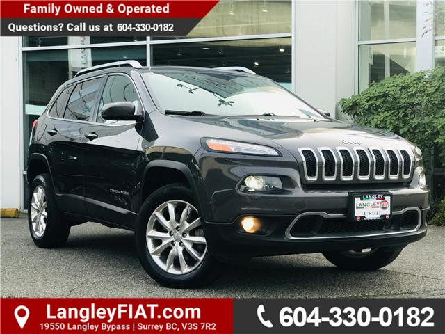 2015 Jeep Cherokee Limited (Stk: FW581065) in Surrey - Image 1 of 29