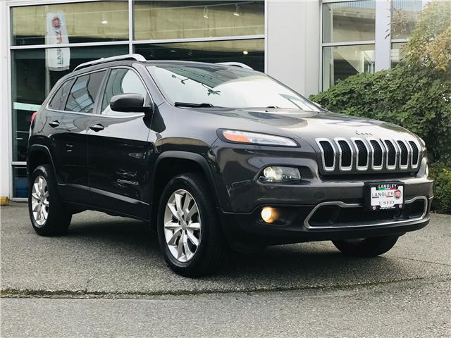2015 Jeep Cherokee Limited (Stk: FW581065) in Surrey - Image 2 of 29