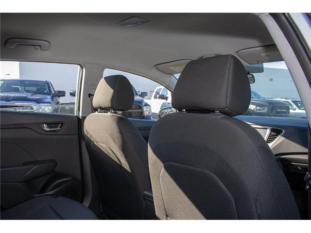 2019 Hyundai Accent Preferred (Stk: KA041826) in Abbotsford - Image 17 of 29