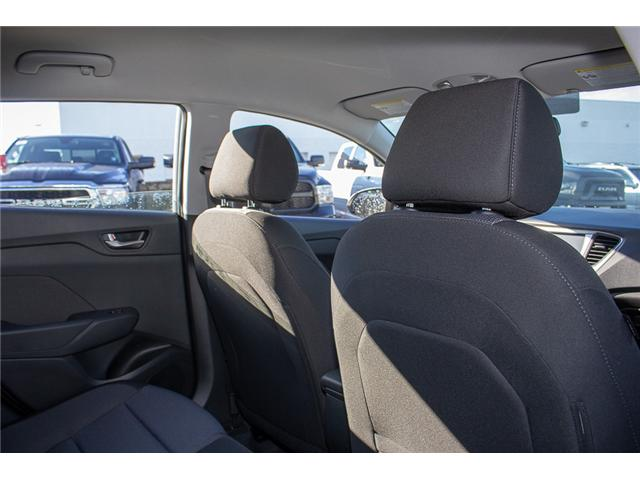 2019 Hyundai Accent Preferred (Stk: KA041826) in Abbotsford - Image 18 of 29