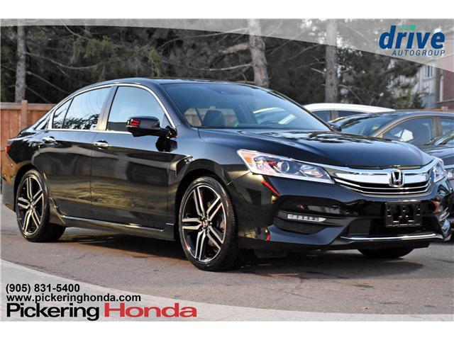 2017 Honda Accord Sport (Stk: P4422) in Pickering - Image 1 of 24