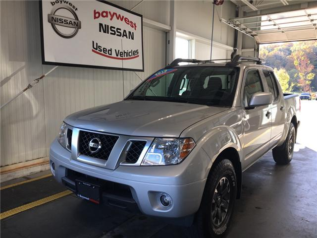 2018 Nissan Frontier PRO-4X (Stk: P0619) in Owen Sound - Image 1 of 12
