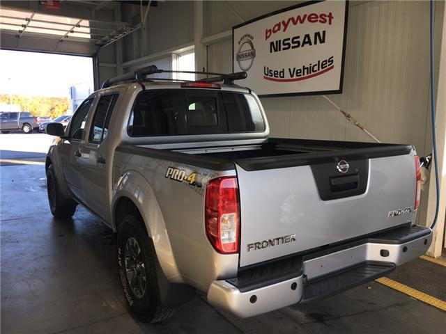 2018 Nissan Frontier PRO-4X (Stk: P0619) in Owen Sound - Image 3 of 12