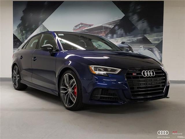 2018 Audi S3 2.0T Technik (Stk: AURS8757) in Richmond - Image 1 of 22