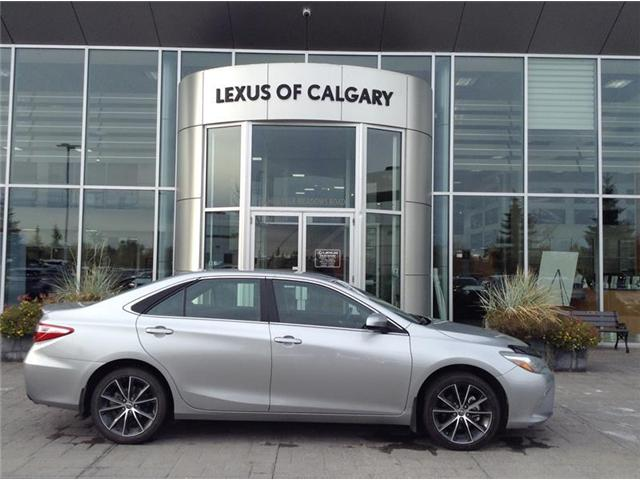 2015 Toyota Camry SE (Stk: 190027A) in Calgary - Image 1 of 7