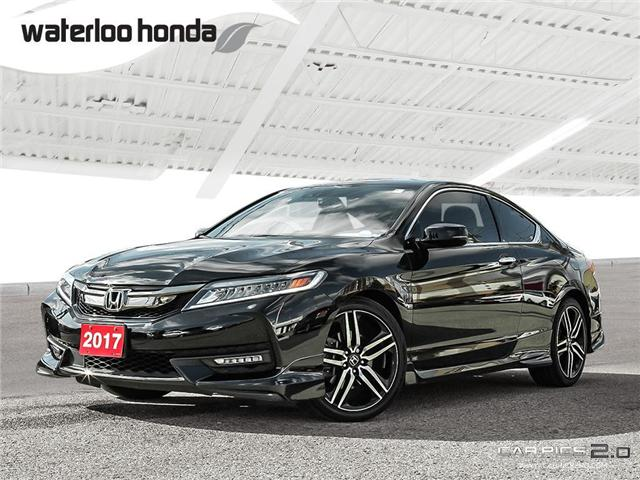 2017 Honda Accord Touring (Stk: U4581) in Waterloo - Image 1 of 28