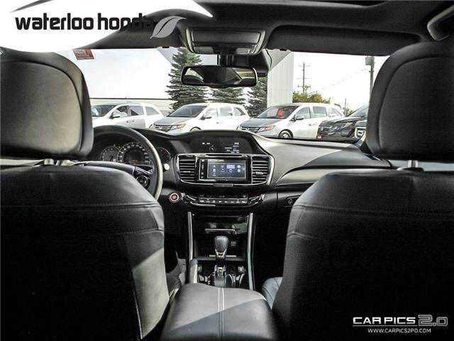 2017 Honda Accord Touring (Stk: U4581) in Waterloo - Image 18 of 28