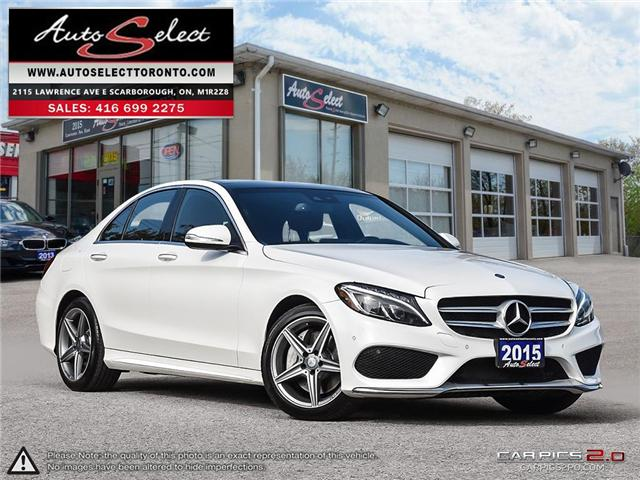 2015 Mercedes-Benz C-Class 4Matic (Stk: 1MWC3G1) in Scarborough - Image 1 of 28
