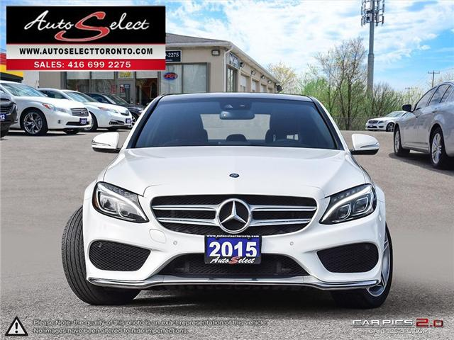 2015 Mercedes-Benz C-Class 4Matic (Stk: 1MWC3G1) in Scarborough - Image 2 of 28