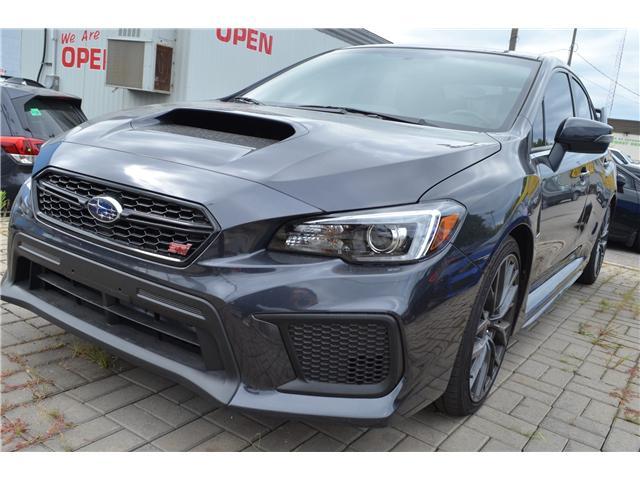 2018 Subaru WRX STI Sport-tech w/Wing (Stk: S3501A) in St.Catharines - Image 3 of 14