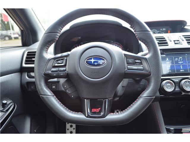 2018 Subaru WRX STI Sport-tech w/Wing (Stk: S3501A) in St.Catharines - Image 11 of 14
