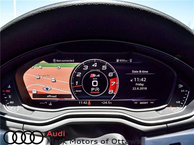 2018 Audi S4 3.0T Technik (Stk: 90992B) in Nepean - Image 18 of 30