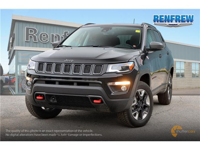 2018 Jeep Compass Trailhawk (Stk: J190) in Renfrew - Image 1 of 20