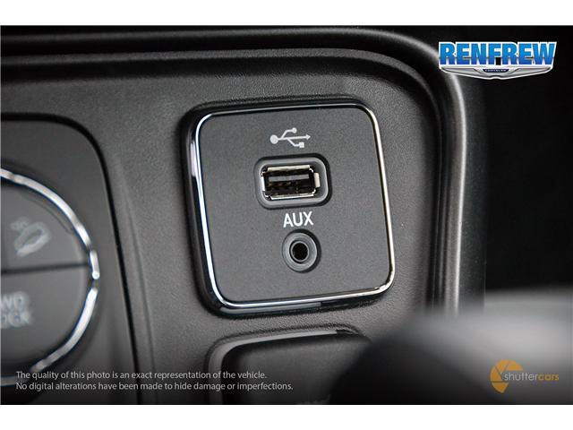 2018 Jeep Compass Trailhawk (Stk: J190) in Renfrew - Image 19 of 20