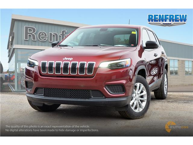 2019 Jeep Cherokee Sport (Stk: K016) in Renfrew - Image 1 of 20