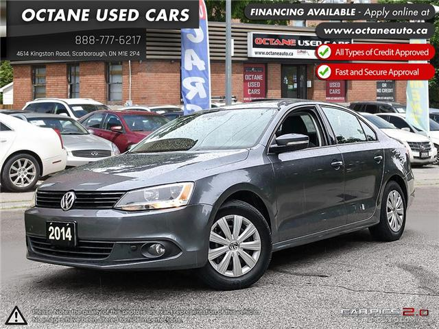 2014 Volkswagen Jetta 2.0 TDI Trendline+ (Stk: ) in Scarborough - Image 1 of 25