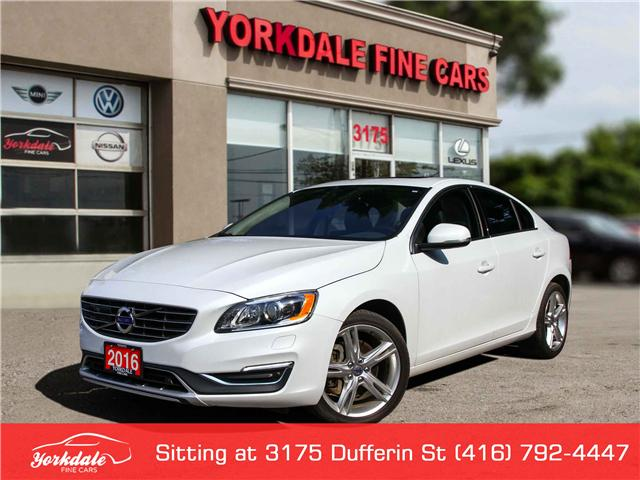 2016 Volvo S60 T5 Special Edition Premier (Stk: SA2116) in Toronto - Image 1 of 29