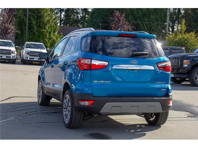 2018 Ford EcoSport Titanium (Stk: 8EC7552) in Surrey - Image 5 of 23