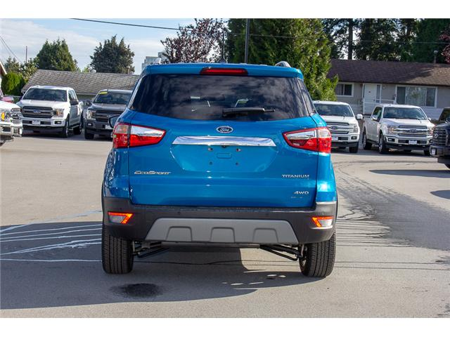 2018 Ford EcoSport Titanium (Stk: 8EC7552) in Surrey - Image 6 of 23