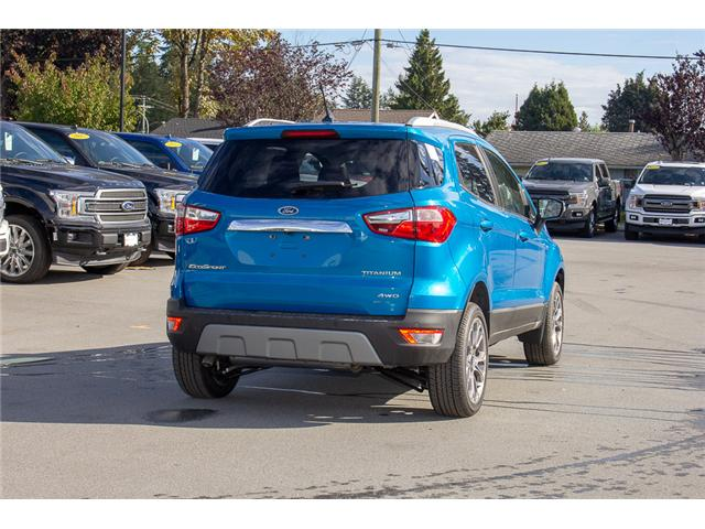 2018 Ford EcoSport Titanium (Stk: 8EC7552) in Surrey - Image 7 of 23