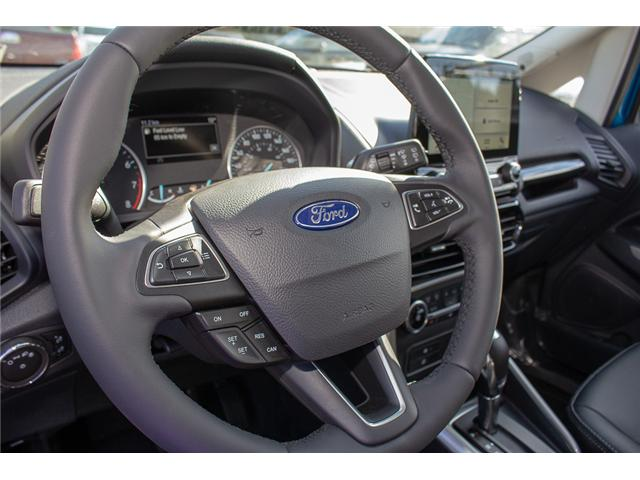 2018 Ford EcoSport Titanium (Stk: 8EC7552) in Surrey - Image 18 of 23