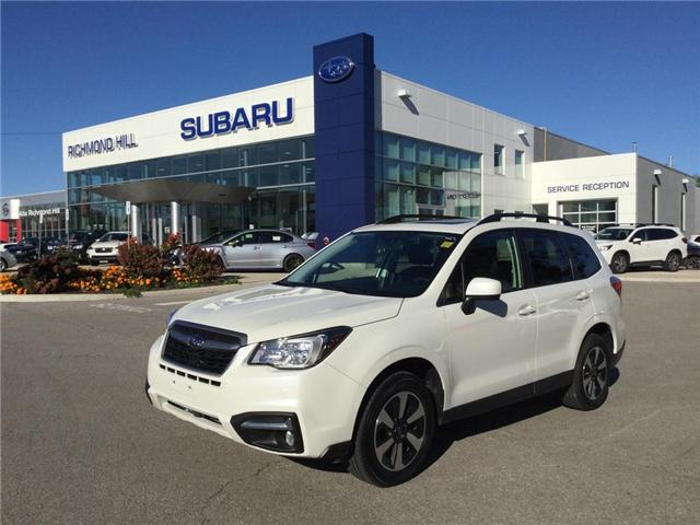 2018 Subaru Forester 2.5i Touring (Stk: T30855) in RICHMOND HILL - Image 1 of 9