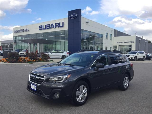 2018 Subaru Outback 2.5i (Stk: 30318) in RICHMOND HILL - Image 1 of 10