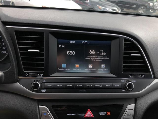 2017 Hyundai Elantra GL|Heated Seats|Rear View Camera|Bluetooth (Stk: PA17487) in BRAMPTON - Image 16 of 18