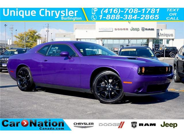 2018 Dodge Challenger SXT BLACKTOP| SUPER TRACK PAK| NAV & MORE! (Stk: NOU-304988-J986) in Burlington - Image 1 of 30