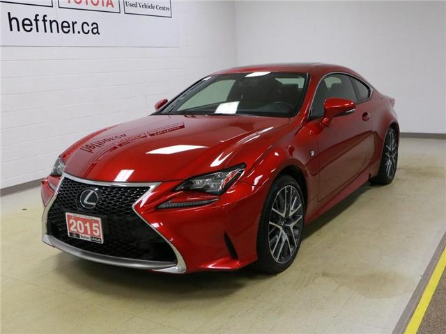 2015 Lexus RC 350 Base (Stk: 187267) in Kitchener - Image 1 of 30