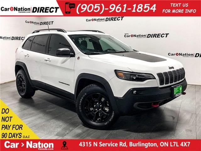 2019 Jeep Cherokee Trailhawk (Stk: J1204A) in Burlington - Image 1 of 30