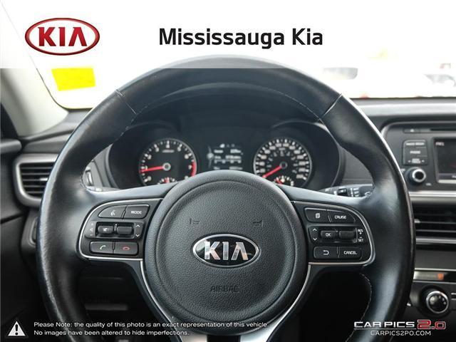 2017 Kia Optima LX+ (Stk: 2103P) in Mississauga - Image 13 of 26